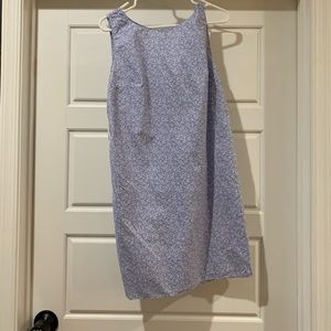 GAP Size 6 Cotton Blue Dress